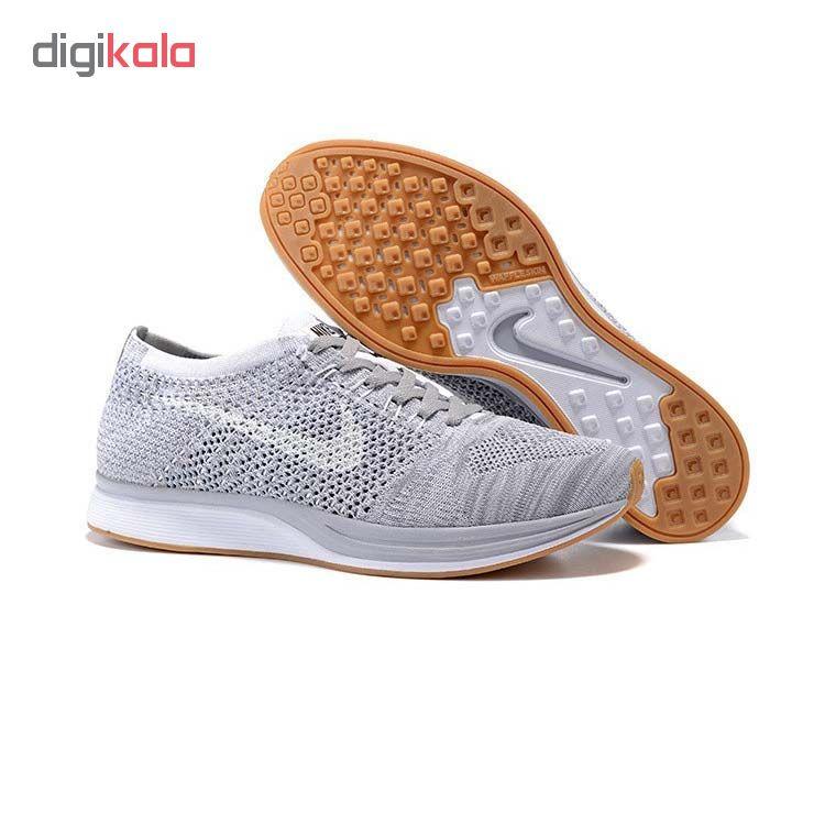 کفش مخصوص پیاده روی زنانه نایکی مدل Flyknit Racer