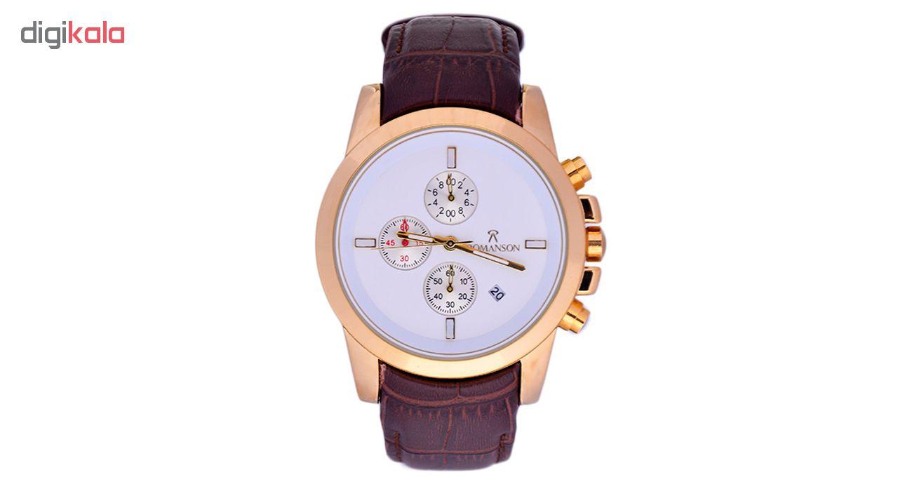 خرید ساعت مچی عقربه ای مردانه مدل 3Rn-SimWh