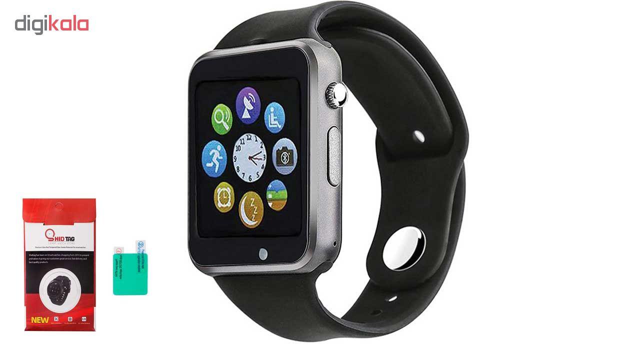 ساعت هوشمند جی تب مدل W101  همراه محافظ صفحه نمایش شیدتگ main 1 1