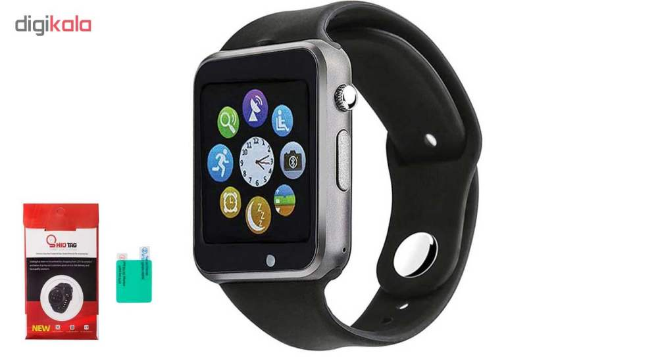 ساعت هوشمند جی تب مدل W101  همراه محافظ صفحه نمایش شیدتگ thumb 1