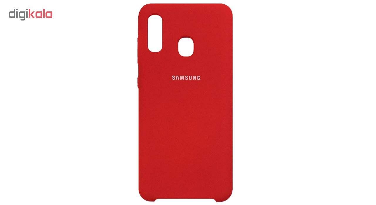 کاور مدل SIL-11 مناسب برای گوشی موبایل سامسونگ Galaxy A30