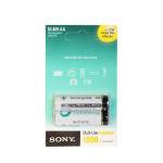 باتری قلمی قابل شارژ سونی مدل NH-AA-B2KN بسته 2 عددی