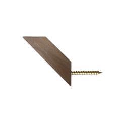 قلاب آویز لباس رخت اویز چوبی چوبیس کد ۷۰۲ بسته ۶ عددی thumb