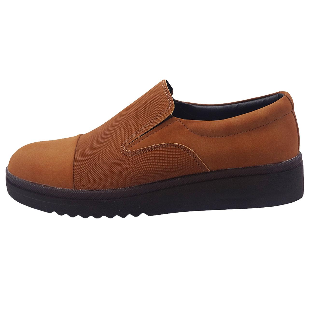 کفش چرم مردانه کد A24