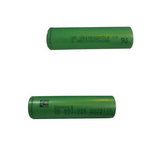 باتری لیتیوم یون قابل شارژ مدل 18650-VTC4 ظرفیت 2200 میلی آمپر بسته 2 عددی