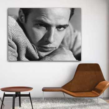 تابلو شاسی طرح مارلون براندو مدل Artist 0320
