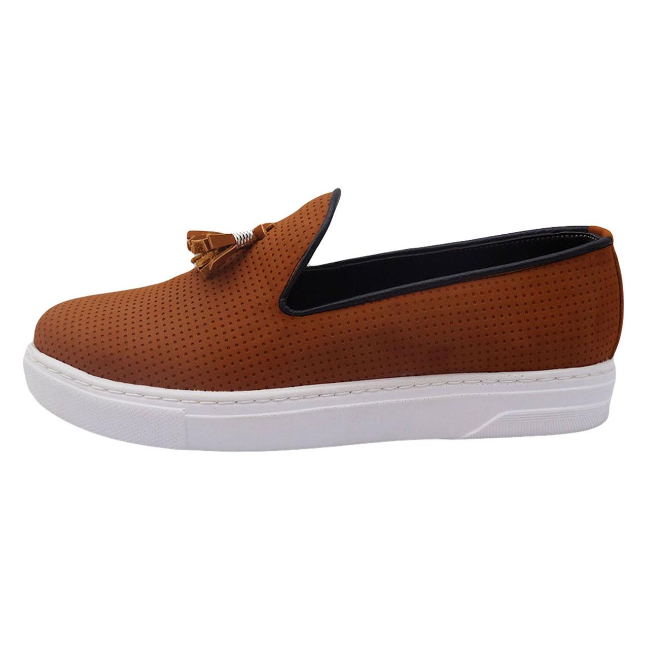 کفش چرم مردانه مدل کالج کد A31
