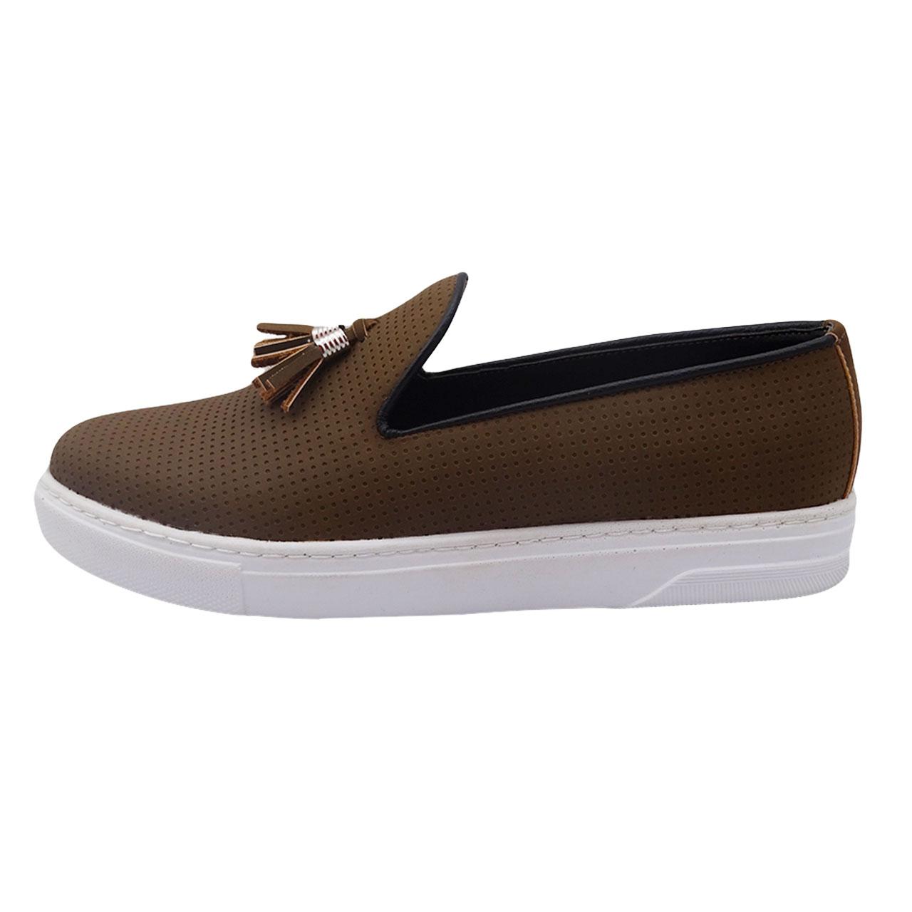 کفش چرم مردانه مدل کالج کد A32