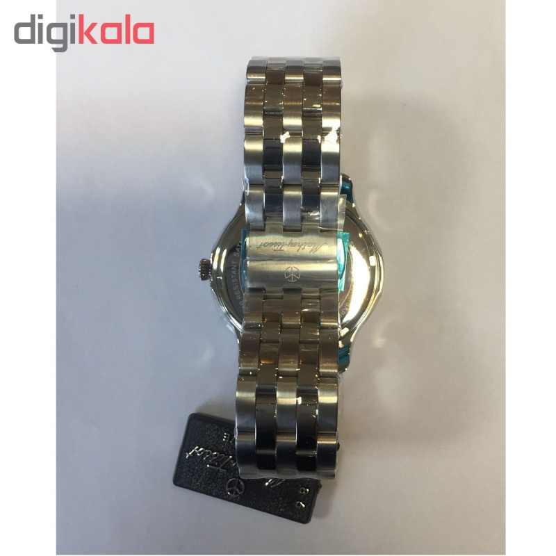 کد تخفیف                                      ساعت مچی عقربه ای مردانه متی تیسوت مدل   H1886MAI