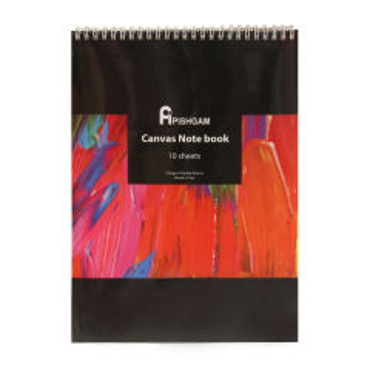 بوم دفترچه ای پیشگام مدل Canvas Notebook Wired سایز 20x30 سانتی متر
