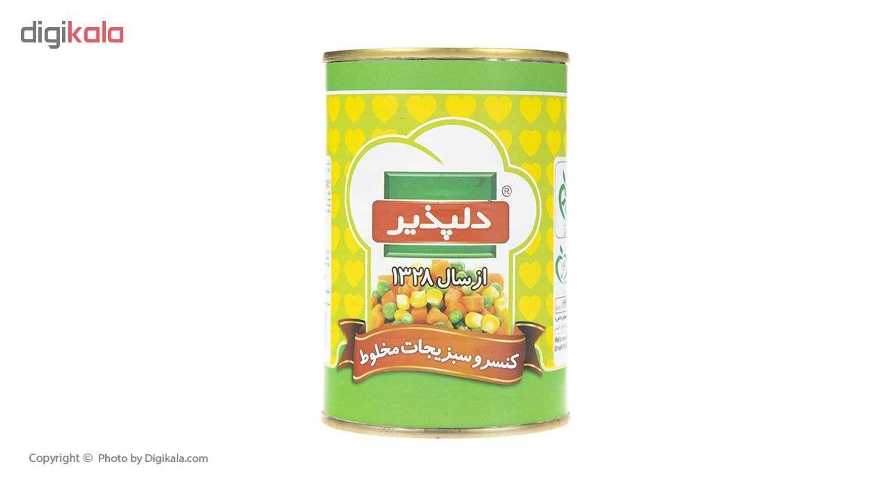 کنسرو سبزیجات مخلوط دلپذیر - 420 گرم main 1 1