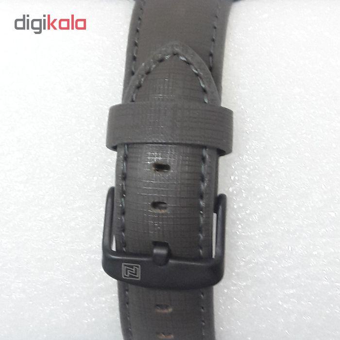 ساعت مچی عقربه ای مردانه نیوی فورس مدل NF9151M / TO-ME به همراه دستمال مخصوص نانو برند کلیر واچ