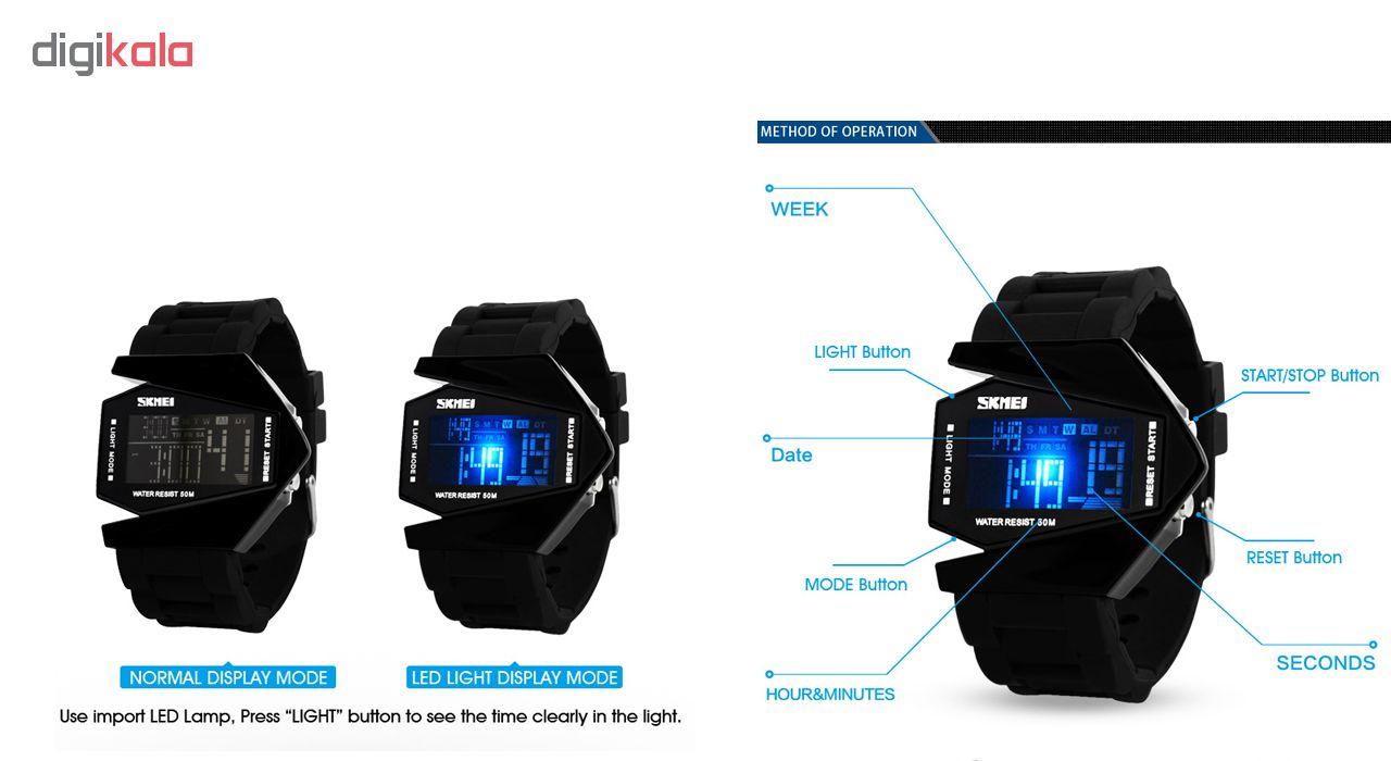 ساعت مچی دیجیتال مردانه اسکمی مدل 0817C