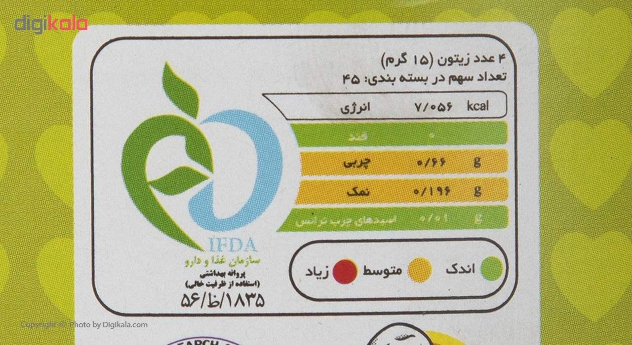 زیتون شور دلپذیر مقدار 660 گرم main 1 3