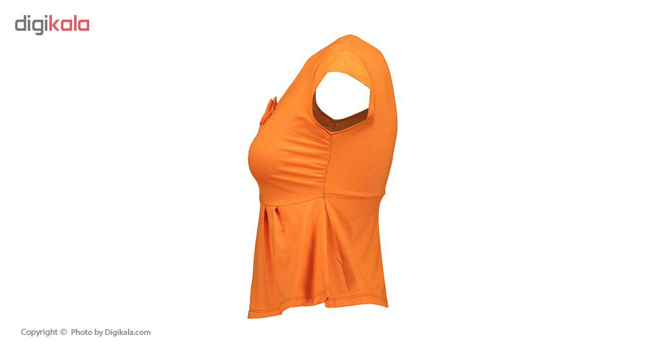 خرید                                      ست تی شرت و شلوارک زنانه جام تین کد 541 JAM O