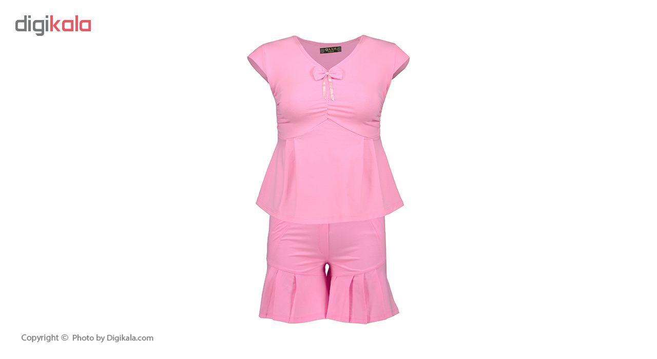 خرید                                      ست تی شرت و شلوارک زنانه جام تین کد 541 JAM PL