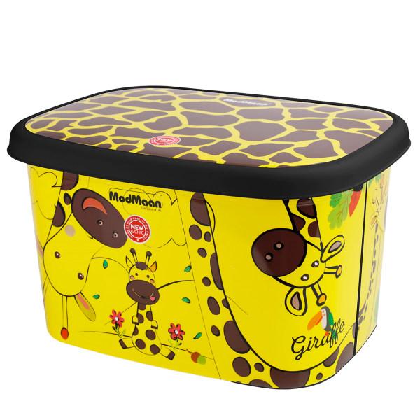 جعبه اسباب بازی کودک مدمان طرح بلک زرافه کد1