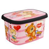 جعبه اسباب بازی کودک مدمان طرح بلک خرس صورتی کد1