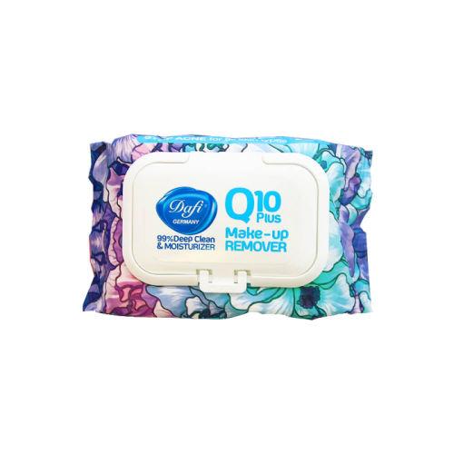دستمال مرطوب دافی مدل Q10 بسته 50 عددی