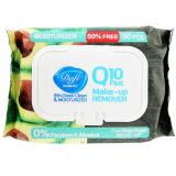 دستمال مرطوب پاک کننده آرایش دافی مدل Q10 PLUS بسته 50 عددی thumb