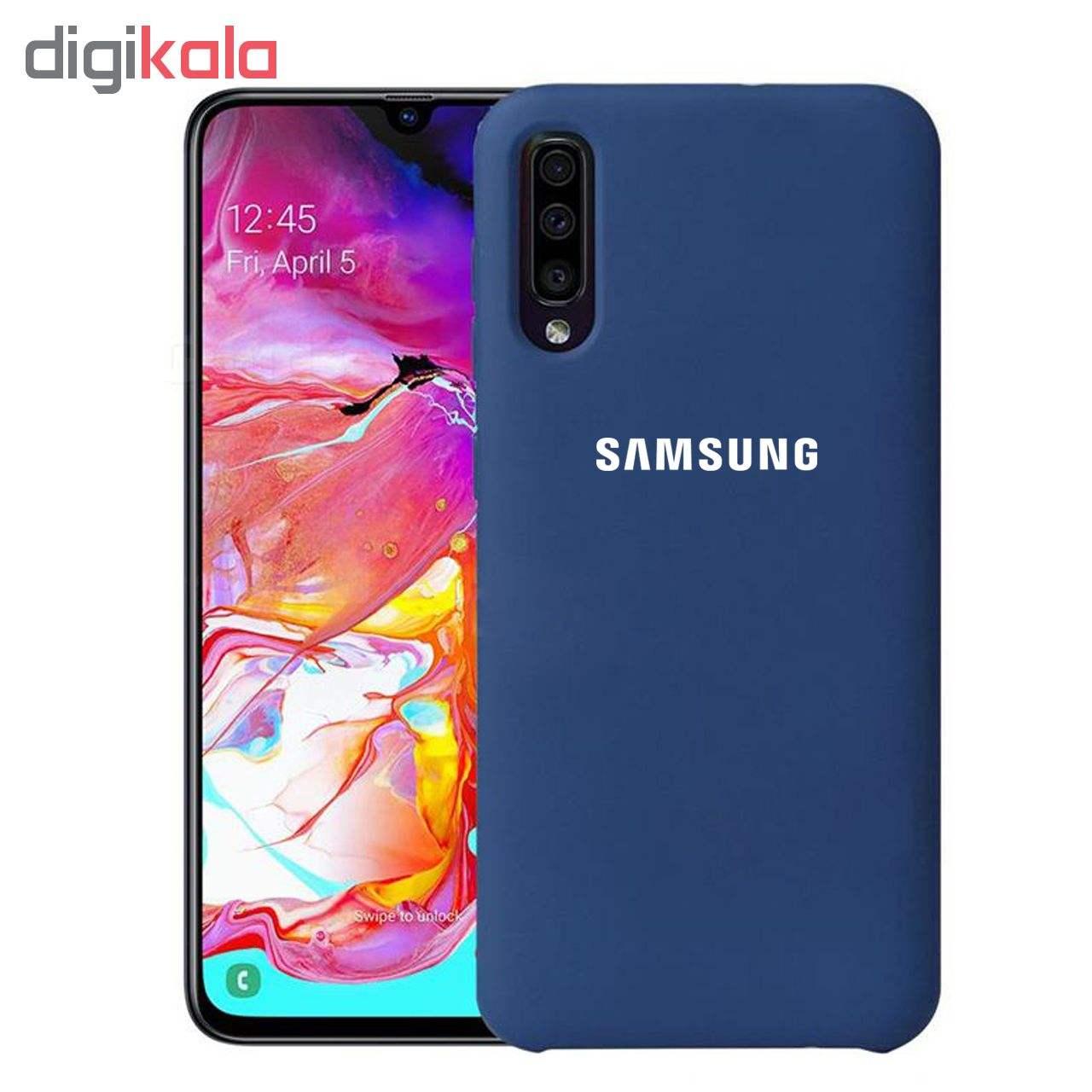 کاور سیلیکونی مدل Silky soft-touch مناسب برای گوشی موبایل سامسونگ Galaxy A70 thumb 3