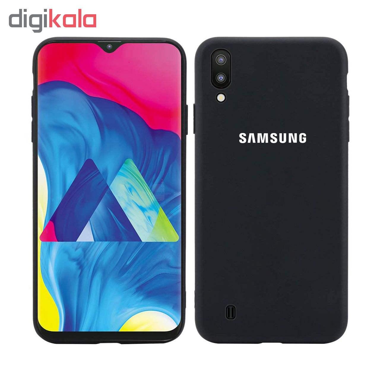 کاور سیلیکونی مدل Silky soft-touch مناسب برای گوشی موبایل سامسونگ Galaxy M10   thumb 1