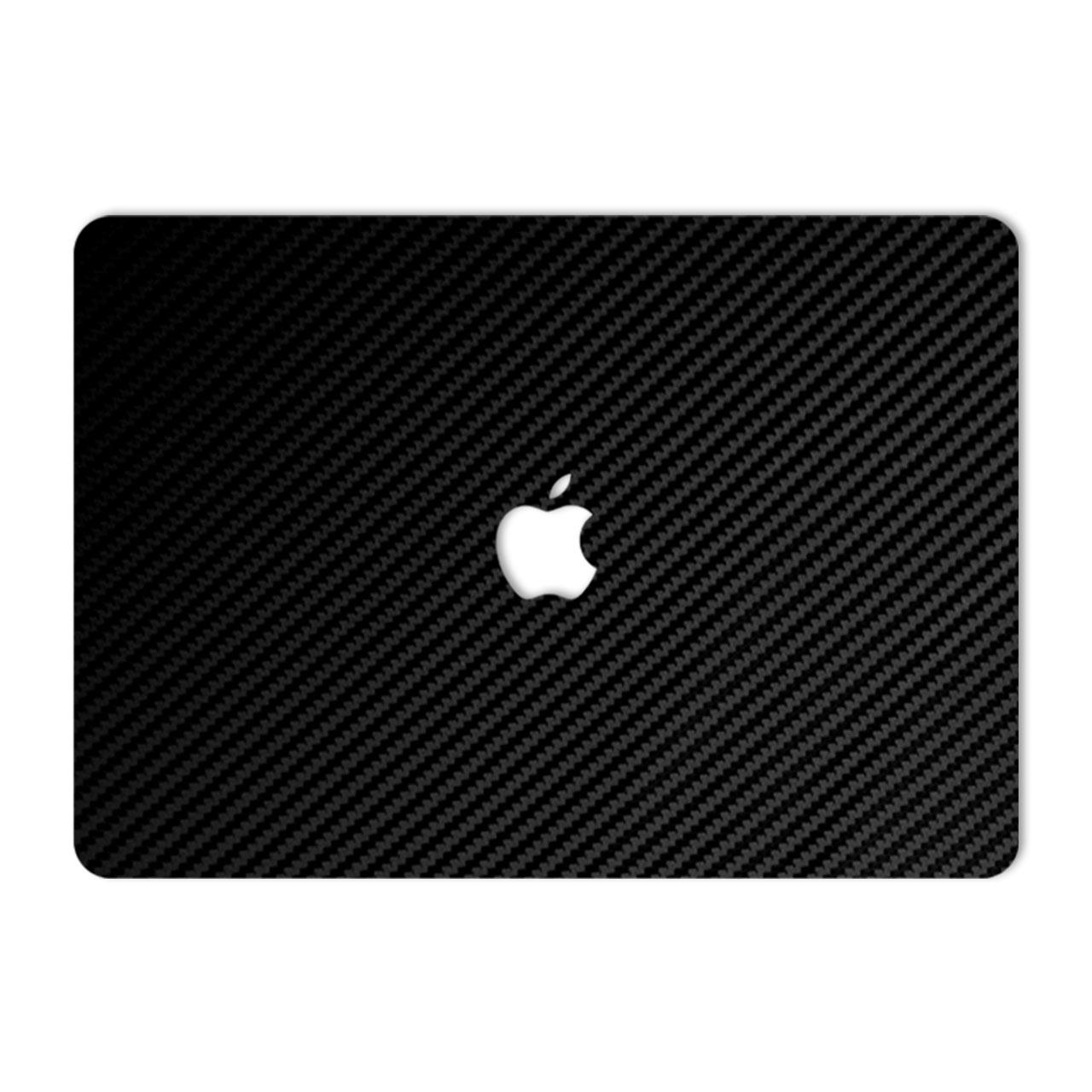 برچسب پوششی ماهوت طرح Black Carbon مناسب برای لپ تاپ Macbook 12inch Retina