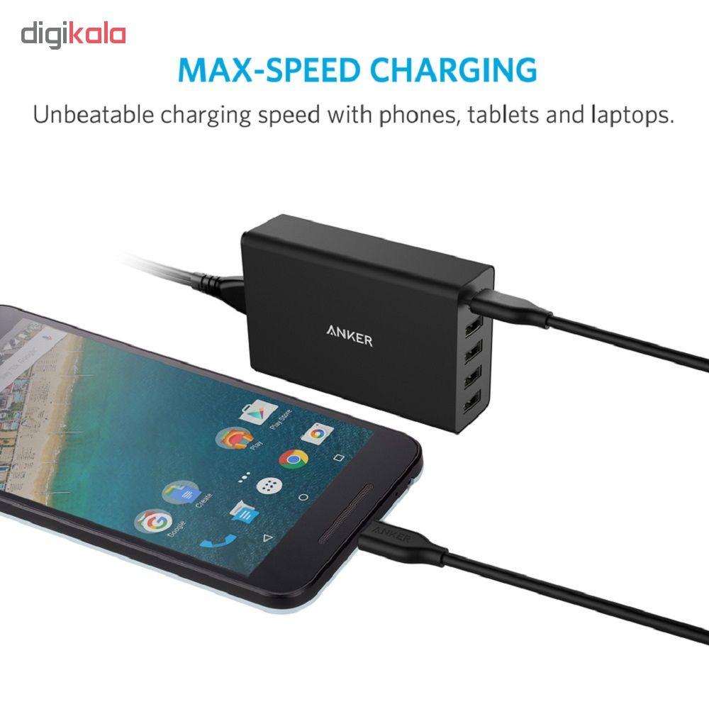 کابل تبدیل USB-C به USB-C انکر مدل Powerline  A8182 طول 1.8 متر