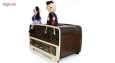 جعبه دستمال کاغذی طرح رادیو کد 2499 thumb 2