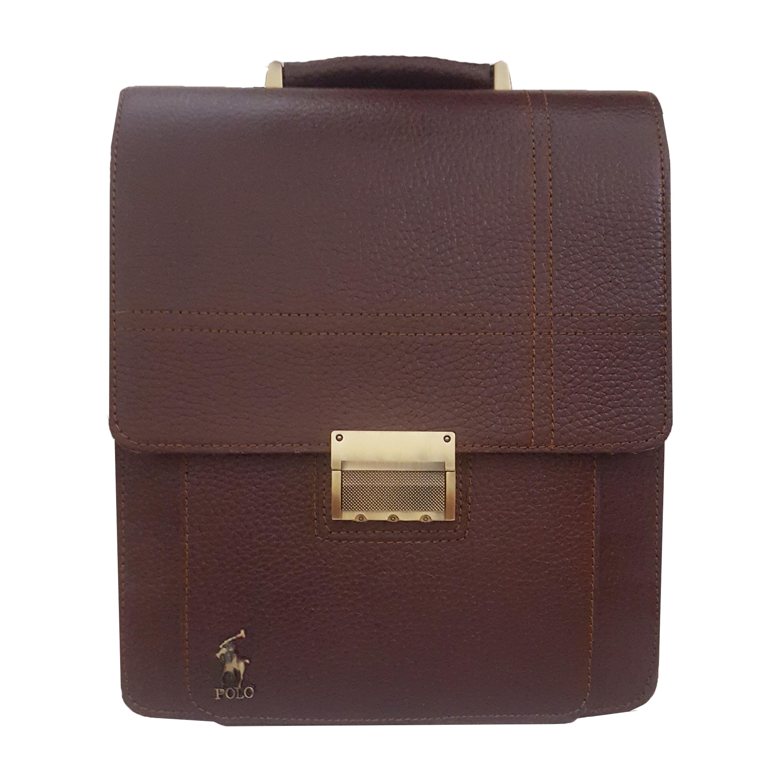 کیف دوشی چرم مدل MSM کد01