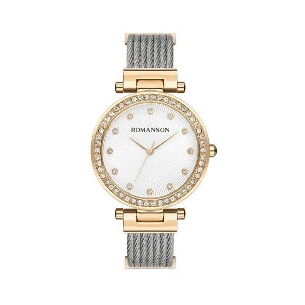 ساعت مچی عقربه ای زنانه رومانسون مدل RM8A31TLGGA11G