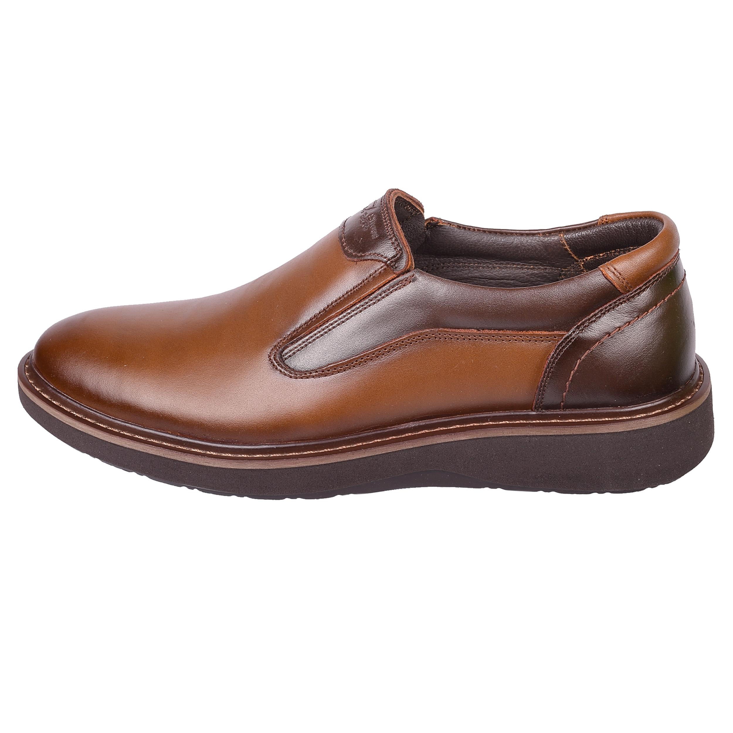 کفش مردانه طاها مدل 1083 رنگ قهوه ای
