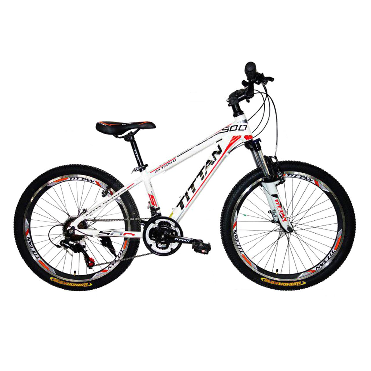 دوچرخه کوهستان تیتان مدل Bally کد 24101 سایز 24