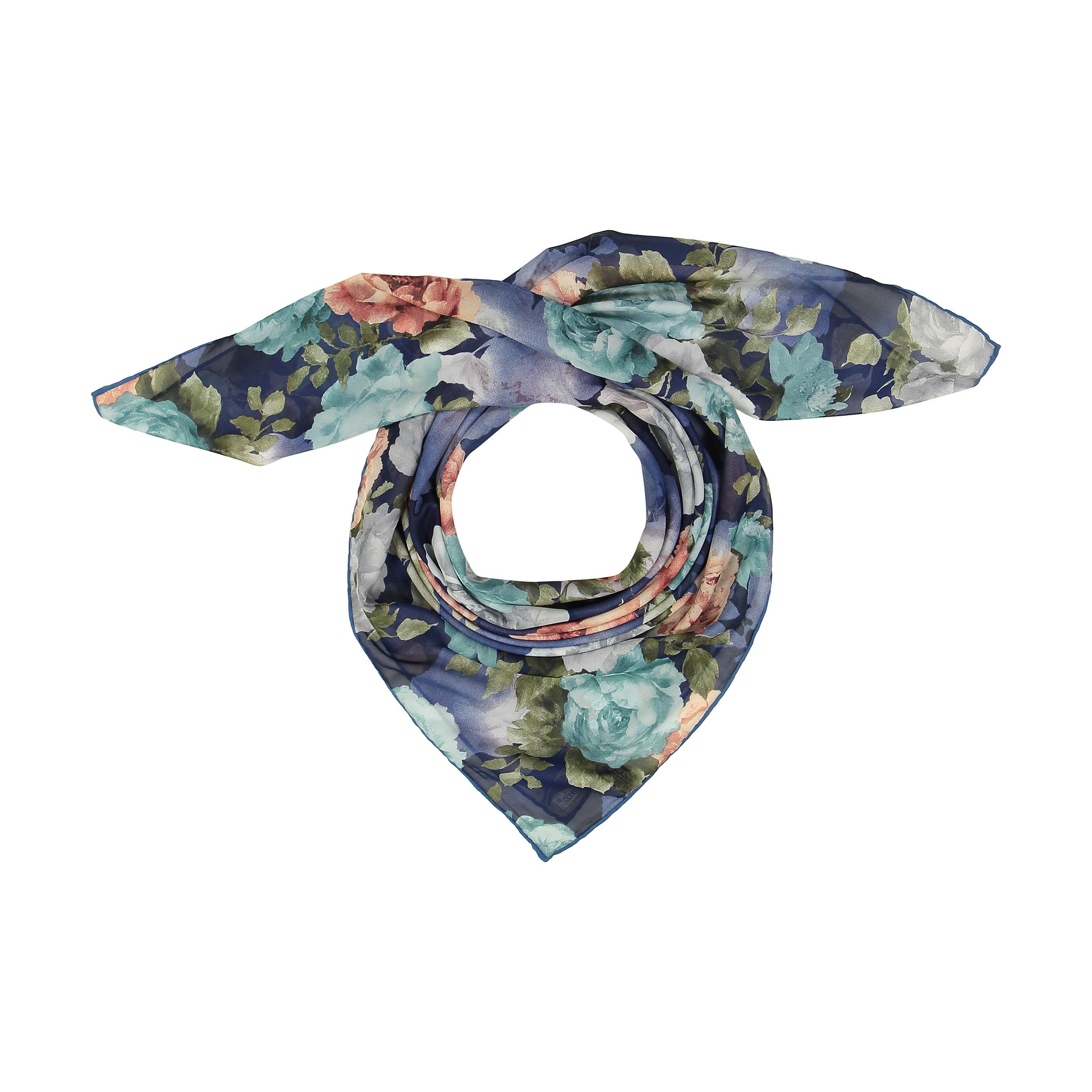 روسری زنانه لمیز طرح گلستان کد 357