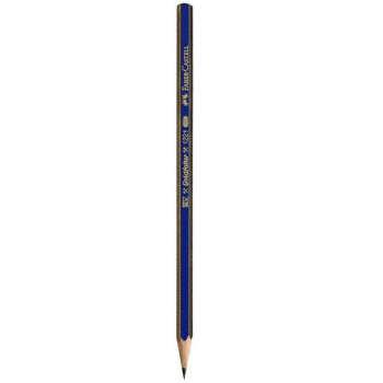 مداد طراحی فابر کاستل مدل گلد فابر 4B بسته 12 عددی