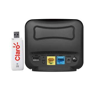 مودم  3G زد تی ای مدل MF626 به همراه روتر وایرلس دی لینک