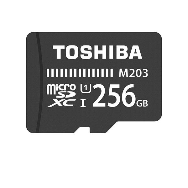 کارت حافظه microSDHC توشیبا مدل M203 کلاس 10 استاندارد UHS-I سرعت 100MBps ظرفیت 256 گیگابایت