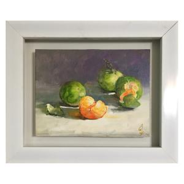 تابلو نقاشى رنگ روغن طرح نارنگى