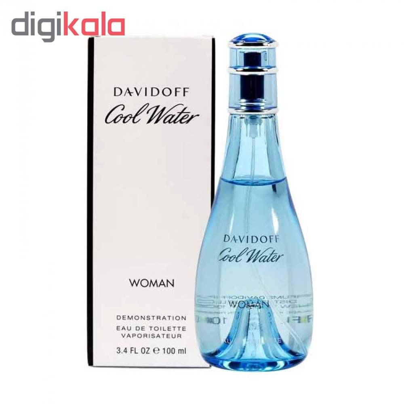 تستر ادو تویلت زنانه داویدف مدل Cool Water حجم 100 میلی لیتر