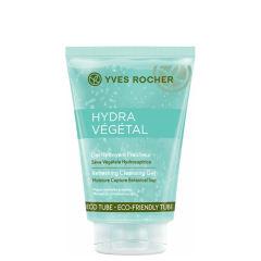 ژل پاک کننده آرایش صورت و شاداب کننده ایو روشه Hydra vegetal حجم 125 میلی لیتر