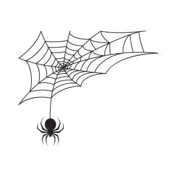 استیکر لپ تاپ طرح تار عنکبوت کد ۰۲