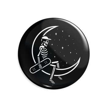 پیکسل ماسا دیزاین طرح اسکلت و ماه استیکر کد ASC74