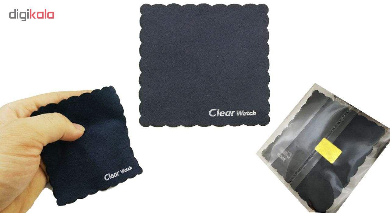 ساعت مچی عقربه ای زنانه سوری شات مدل SUR 9944 / GHER به همراه دستمال مخصوص نانو کلیر واچ