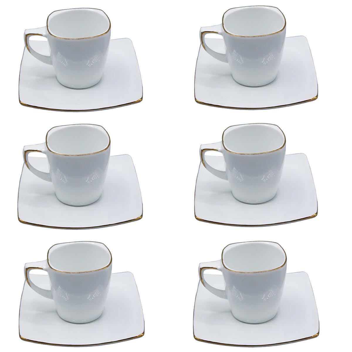 سرویس قهوه خوری 12 پارچه لورین کد 4&30033