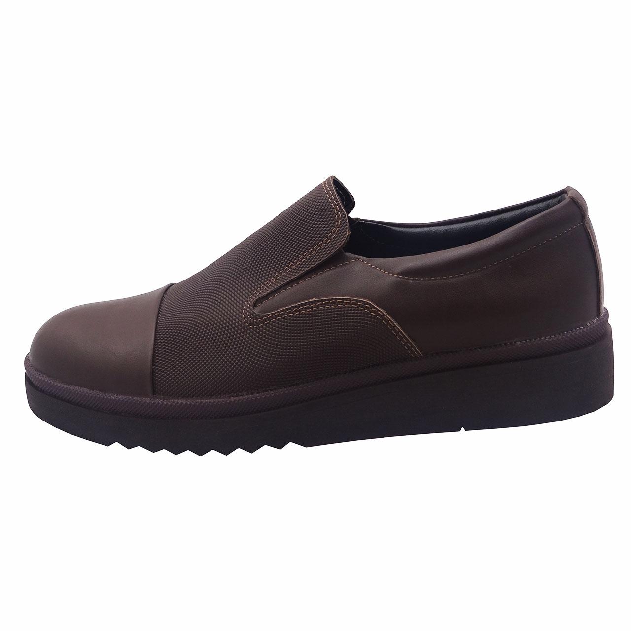 کفش چرم  مردانه مدل برت کد A36