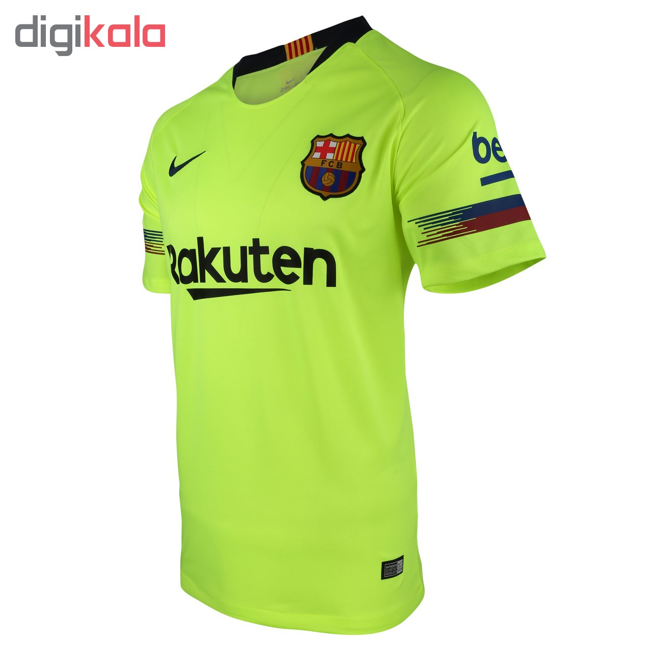 تیشرت ورزشی مردانه دوم تیم بارسلونا BA01