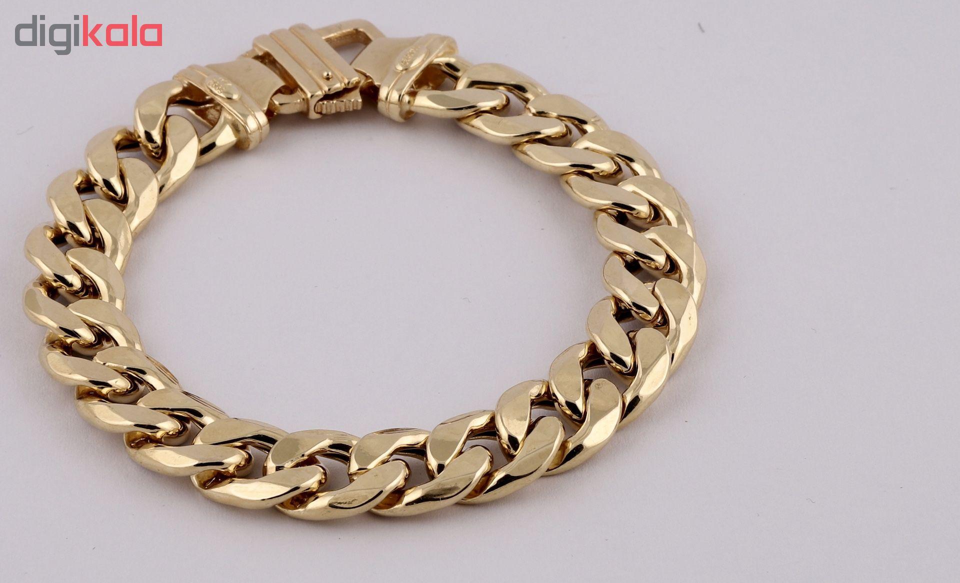دستبند طلا 18 عیار گوی گالری مدل G339