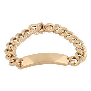 دستبند طلا 18 عیار گوی گالری مدل G344