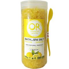 نمک حمام اور مدل Lemon وزن 100+700 گرم
