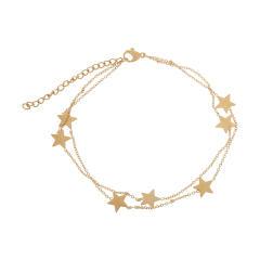 پابند زنانه طرح ستاره کد 458